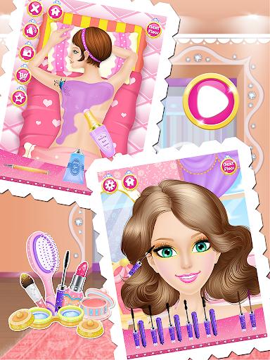 公主時尚一站式沙龍-女孩遊戲