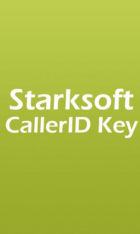 Smart CallerID Pro Key - screenshot