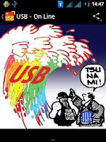Screenshot of Unione Sindacale di Base - USB