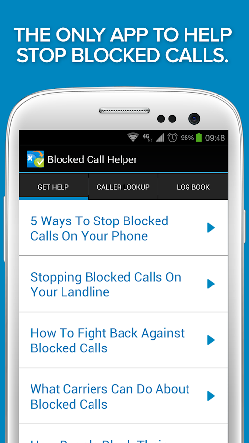 Blocked & Unknown Call Helper- screenshot