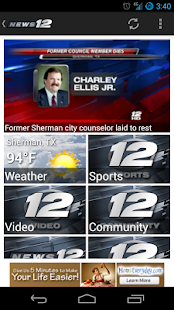 KXII News - screenshot thumbnail
