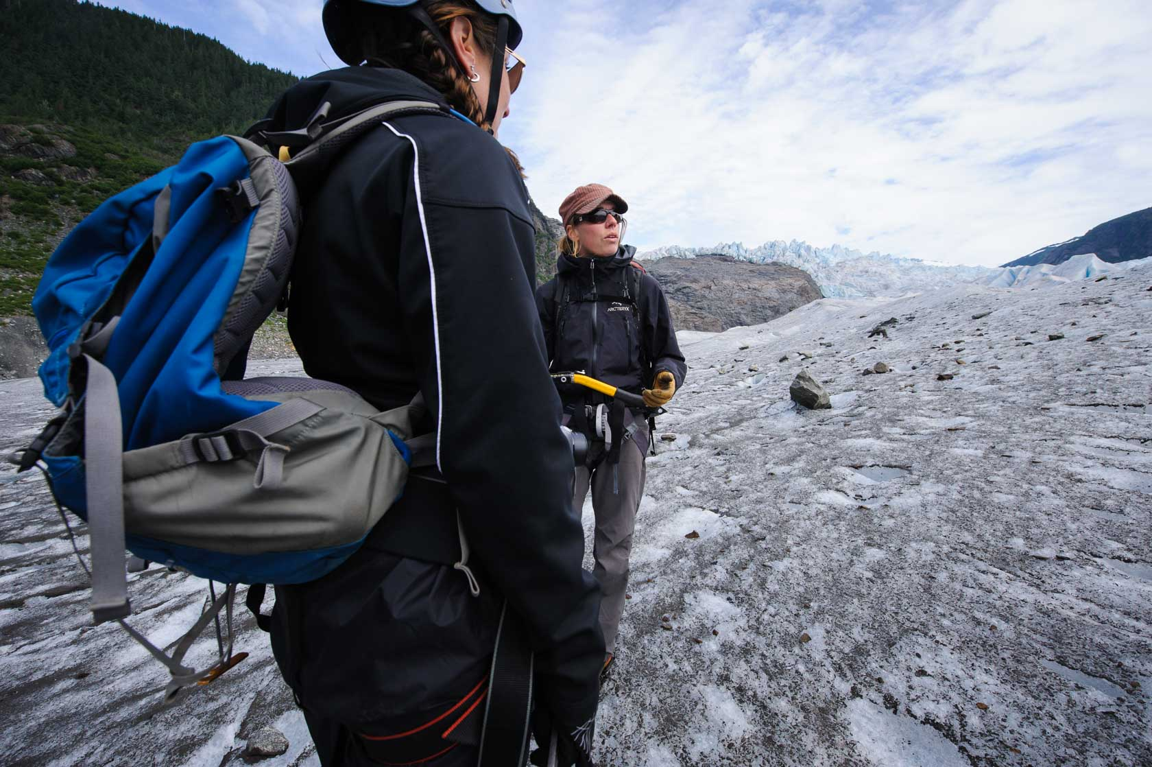 Glacier Hiking, Juneau, Alaska