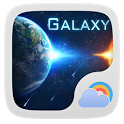 Galaxy Theme GO Weather EX icon