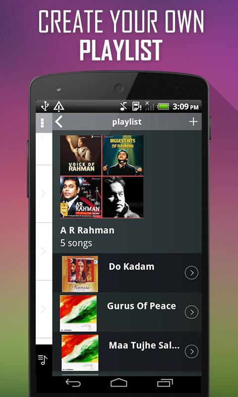 A R Rahman Songs - screenshot