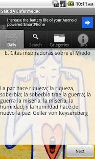 Salud y Enfermedad- screenshot thumbnail
