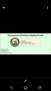 Rec. Offshore Landing Permits - screenshot thumbnail