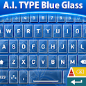 A.I. Type Blue Glass א icon