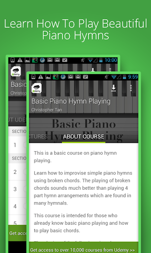 Learn To Play Piano Hymns