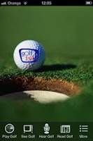 Screenshot of Golf TV