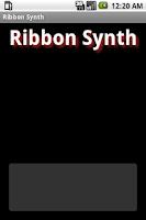 Screenshot of Ribbon Synth Free