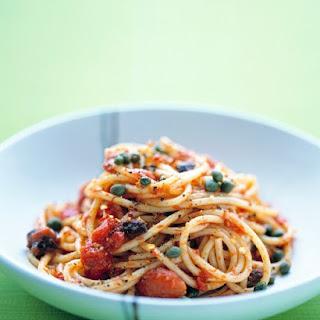 Spaghetti Puttanesca.