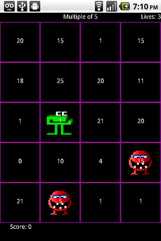 Number munchers game