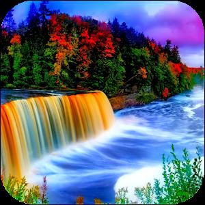 Rainbow Waterfall 娛樂 App LOGO-APP試玩