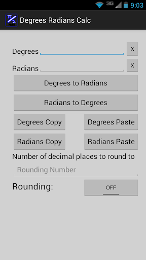 Degrees to Radians Calculator