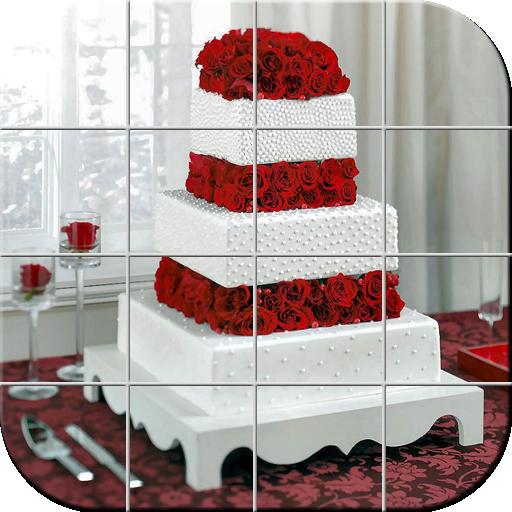 ウエディングケーキ パズル 解謎 App LOGO-硬是要APP