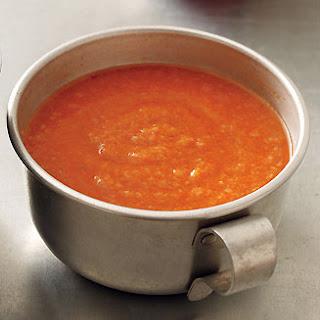 Bread and Tomato Soup.