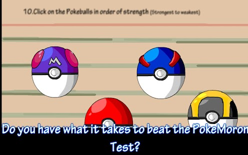 Poke Moron Test - screenshot thumbnail