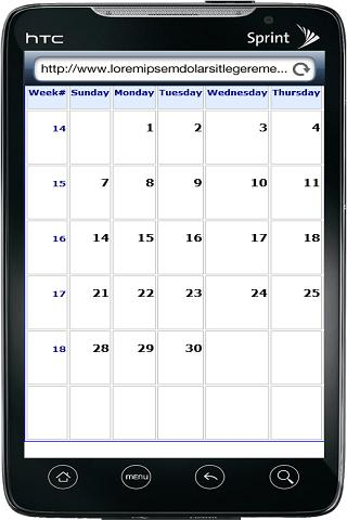 2013 Calendar & Indian Holiday - screenshot