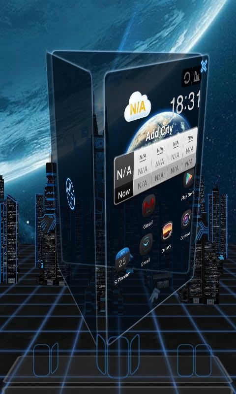 Next Base 3D Livewallpaper LWP - screenshot
