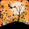 Funny Orange Halloween LWP icon
