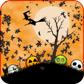 Funny Orange Halloween LWP