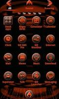 Screenshot of ORANGE TECH GO Launcher EX