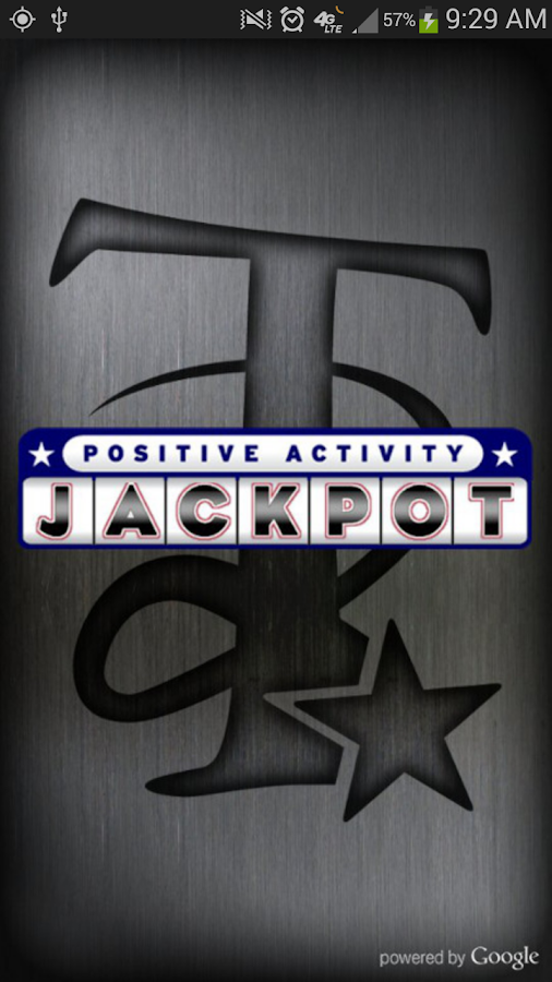 Positive Activity Jackpot - screenshot
