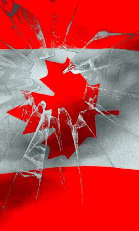 Canada flag free livewallpaper - screenshot