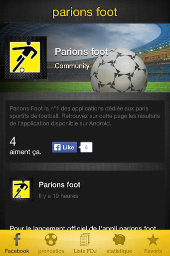 parions foot