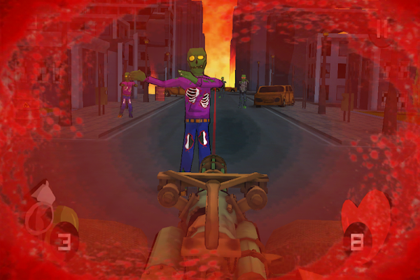 Minigun vs Zombies - screenshot