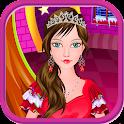 Princess spa christmas games icon
