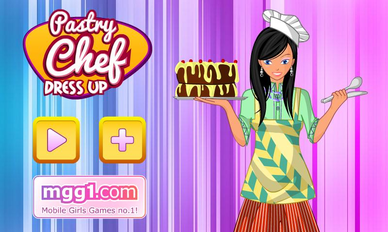 Pastry Chef Dress Up - screenshot