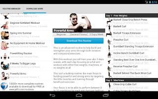 Screenshot of JEFIT PRO HD Workout & Fitness