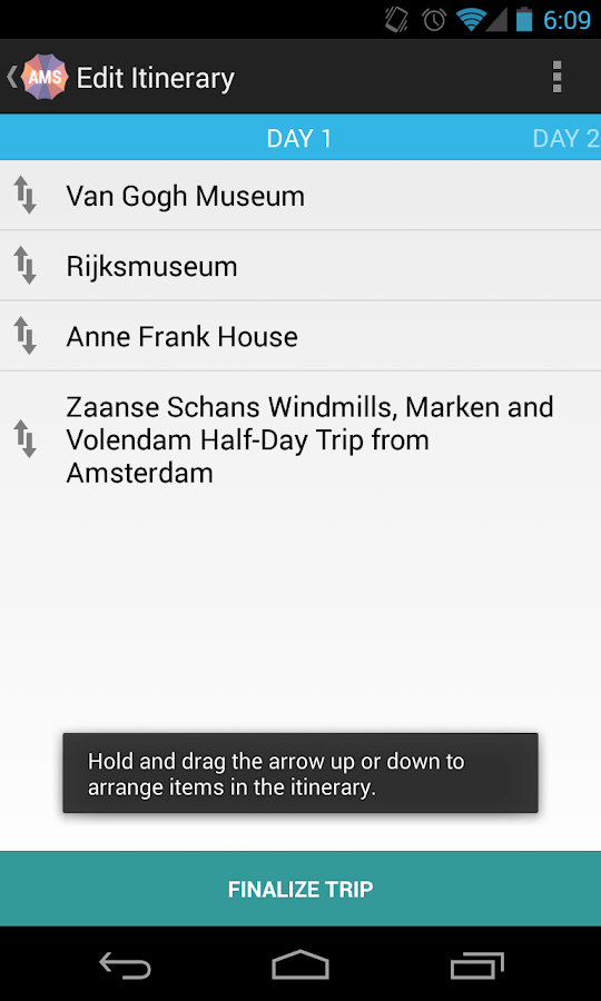 Holidayen Amsterdam- screenshot