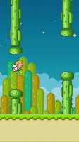 Screenshot of Flappy Cupid