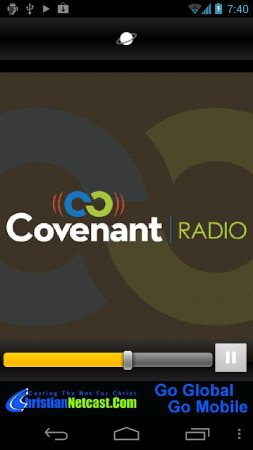 Covenant Radio - screenshot