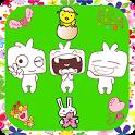 Cute! Free Chat Emoji Emoticon icon