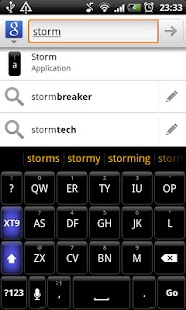 Storm - HD Keyboard Theme - screenshot thumbnail