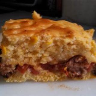 Cornbread Sausage Casserole.