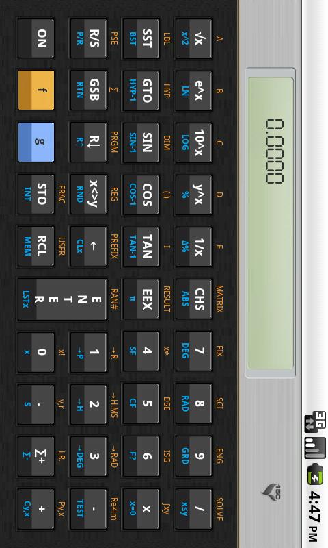 15C Scientific Calculator- screenshot