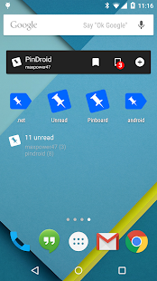PinDroid- screenshot thumbnail