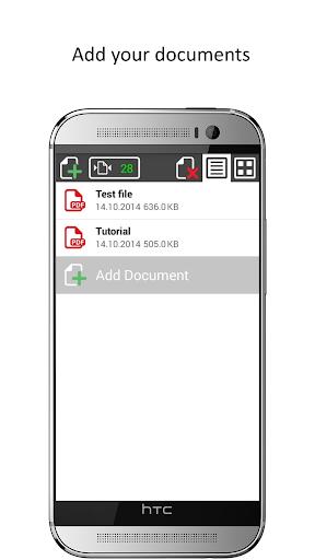 Shuffle Scan PDF Reader