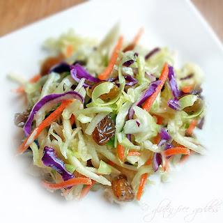 Snappy Crunchy Vegan Coleslaw (No Mayo!)