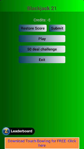 Blackjack Challenge