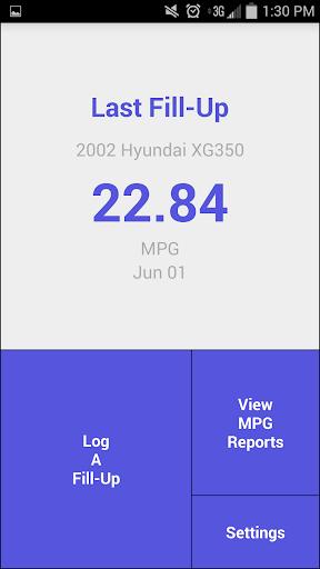 MPG Tracker Lite