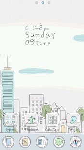 Line City GO Launcher Theme- screenshot thumbnail