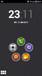MIUI X5 HD Apex/Nova/ADW Theme Screenshot