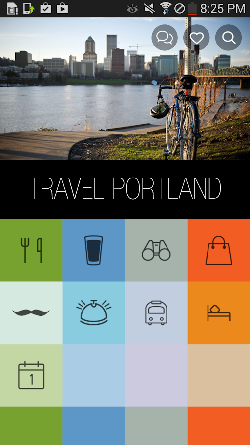 Travel Portland - screenshot