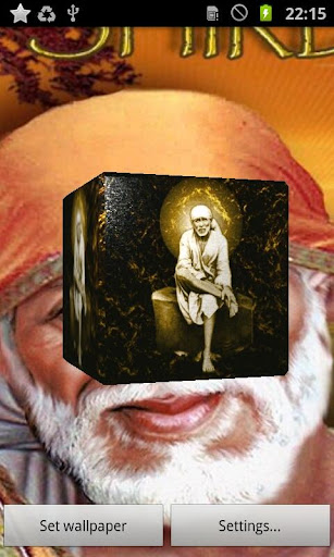 Sai Baba 3D Live Wallpaper