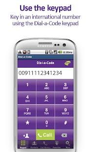 The Dial-a-Code App- screenshot thumbnail